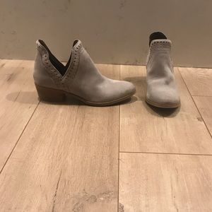 BCBGeneration Suede Leather Booties